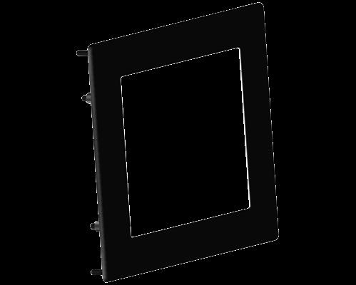 Aluminium bezel 117x88.2mm