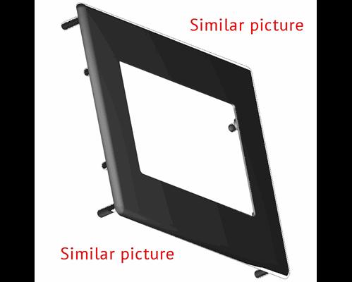Aluminium bezel 91.5x119mm