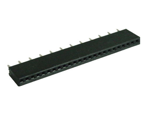 1x12 socket 2.54mm pitch EA B254-12