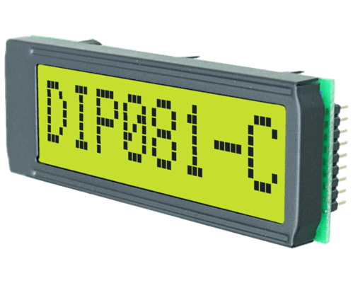 1x8 DIP Character Display