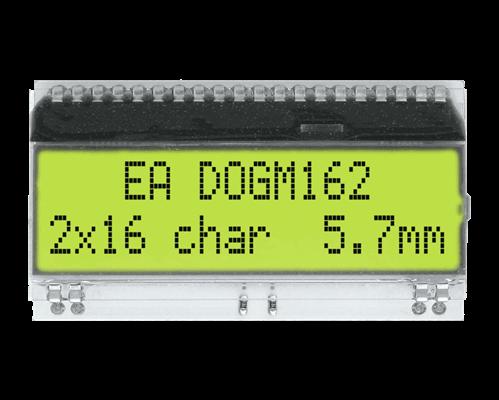 2x16 Character Display EA DOGM162E-A