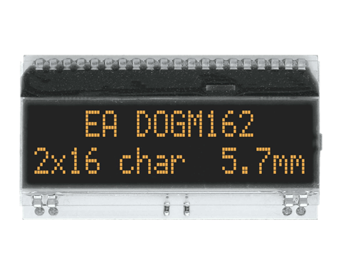 2x16 Character Display EA DOGM162S-A