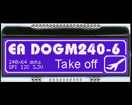 2402x64 DOG Graphic Display