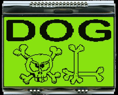160x104 DOG Graphic Display