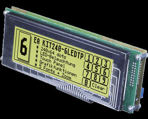 """5.4"""" Serial HMI Graphic display"""