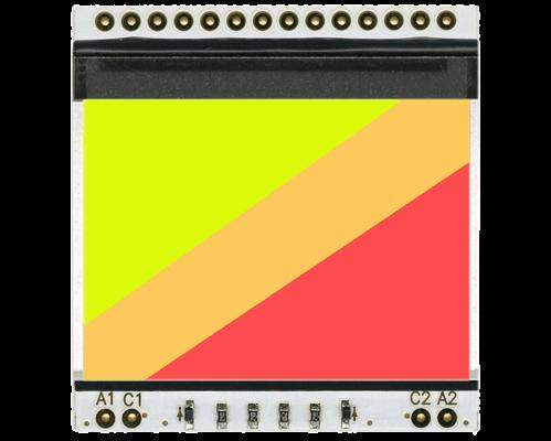 LED backlight (2 colours GRA) for EA DOGS102-6