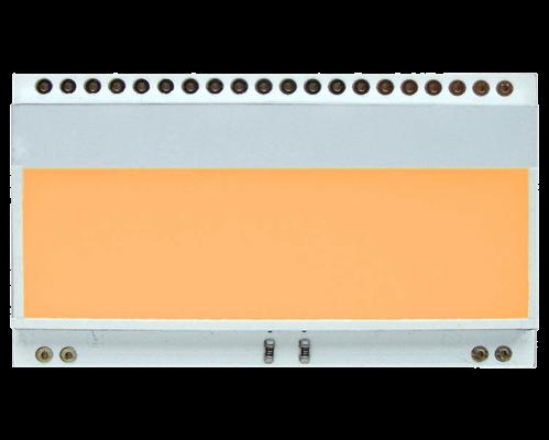 LED backlit AMBER for EA DOGM018,162,163,132