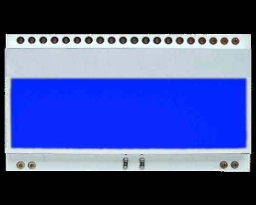 LED backlit BLUE for EA DOGM018,162,163,132