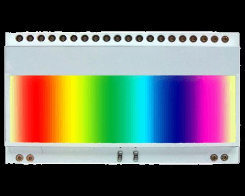 LED backlight (3 colours RGB) for EA DOGM018,162,163,132