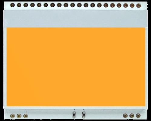 LED backlit AMBER for EA DOGM128-6