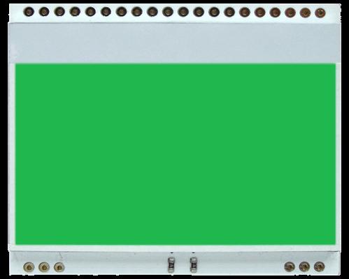 LED backlit PURE GREEN for EA DOGM128-6