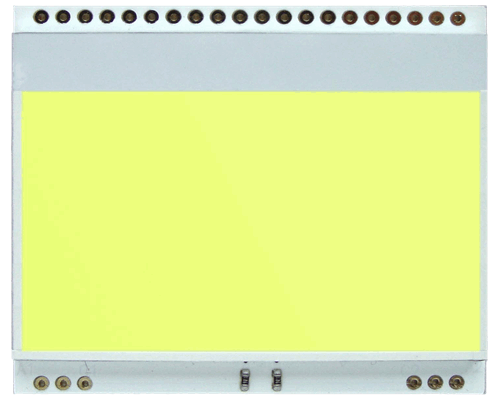 LED backlit YELLOW/GREEN for EA DOGM128-6