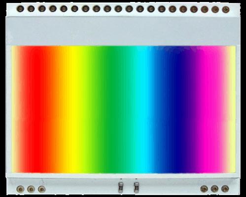 LED backlight (3 colours RGB) for EA DOGM128-6