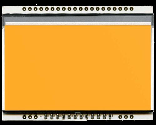 LED backlit AMBER unit for EA DOGL128-6