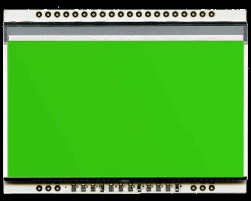 LED backlit PURE GREEN unit for EA DOGL128-6