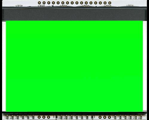 LED backlit unit PURE GREEN for EA DOGXL160-