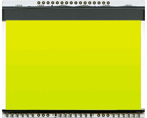 LED backlit unit YELLOW/GREEN for EA DOGXL160-7