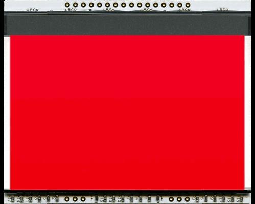 LED backlit unit RED for EA DOGXL160-7