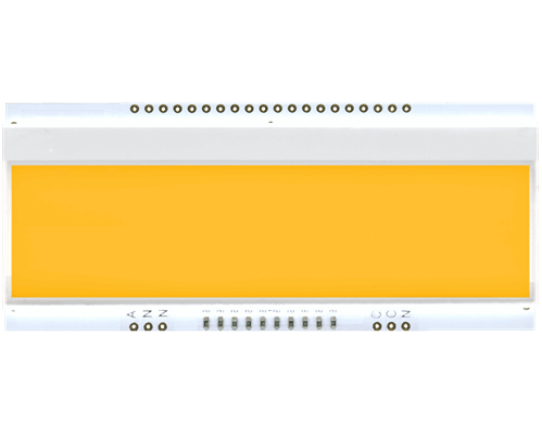 LED backlit unit AMBER for EA DOGM240-6