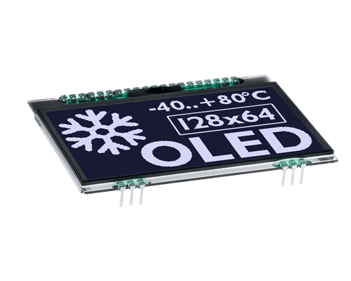 """128x64 COG OLED 2.9""""Graphic Display with I?C, SPI"""