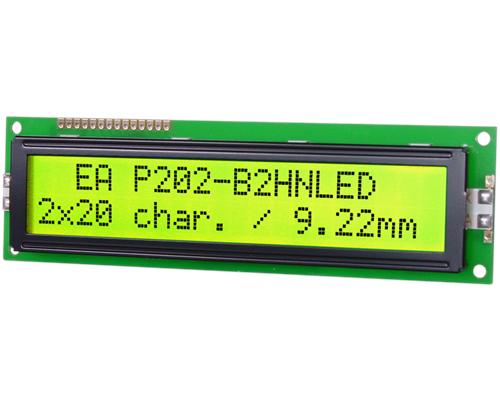 2x20 Character Display EA P202-B2HNLED