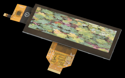 """5.2"""" 480x128 TFT Graphic Display with PCAP touch screen"""