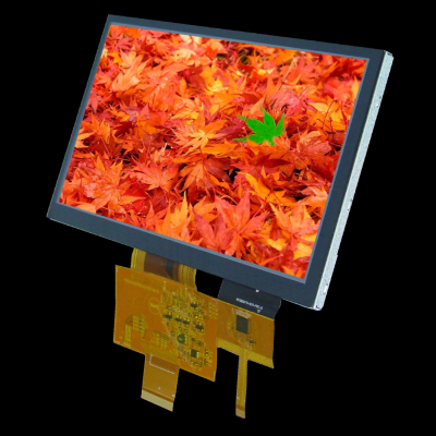 """7.0"""" 800x480 TFT Graphic Display with PCAP touch screen"""