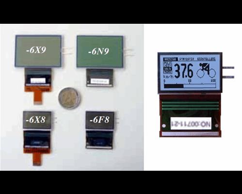 128x64 COG Graphic Display EA W128W-6X8HEW