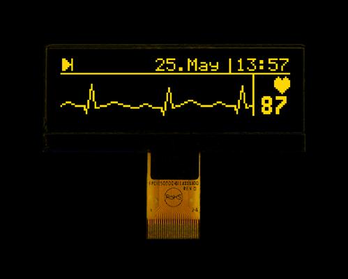 "128x32 mini OLED 2.2"" Graphic Display with I?C, SPI"