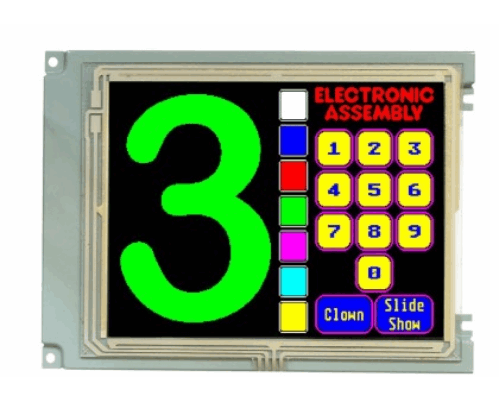 320x240 1/4 VGA Colour Graphic Display EA W320F-8LW