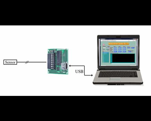 Smartec UTI Sensor to Digital Evaluation board, USB