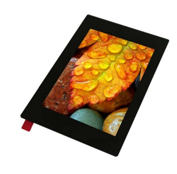 """3.5"""" 480x320 TFT-IPS Graphic Display with PCAP touch screen"""