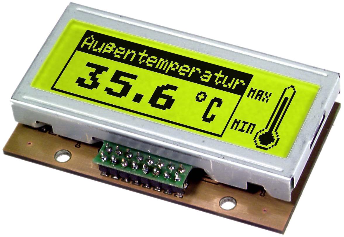 120x32 serial Graphic display EA GE120-5NV24