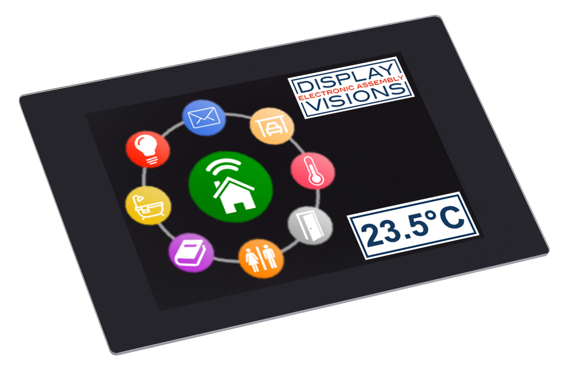 """3.5"""" uniTFT/IPS multifunctional Graphic Display + PCAP touch"""
