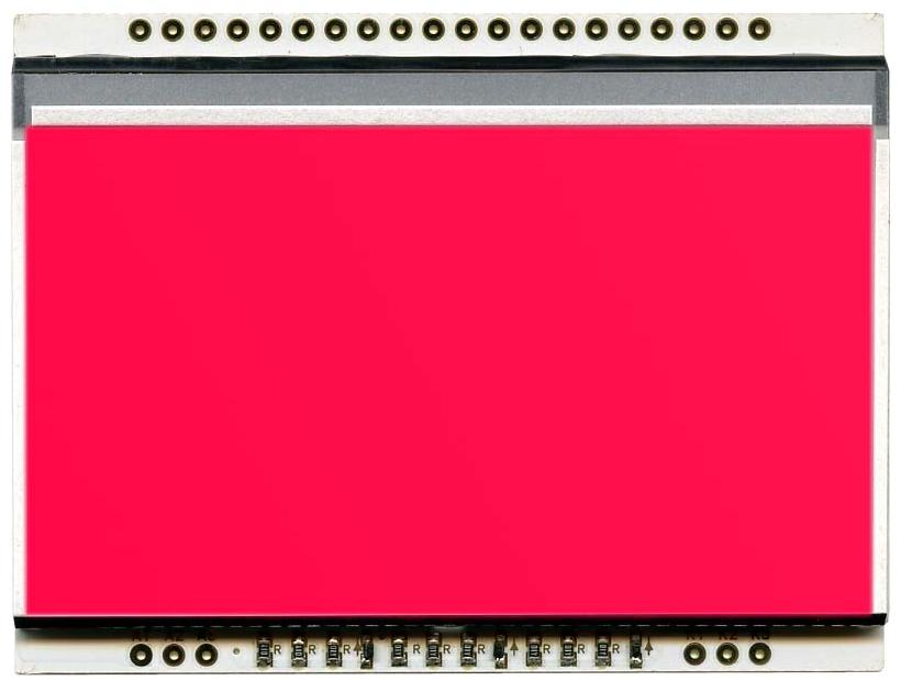 LED backlit RED unit for EA DOGL128-6