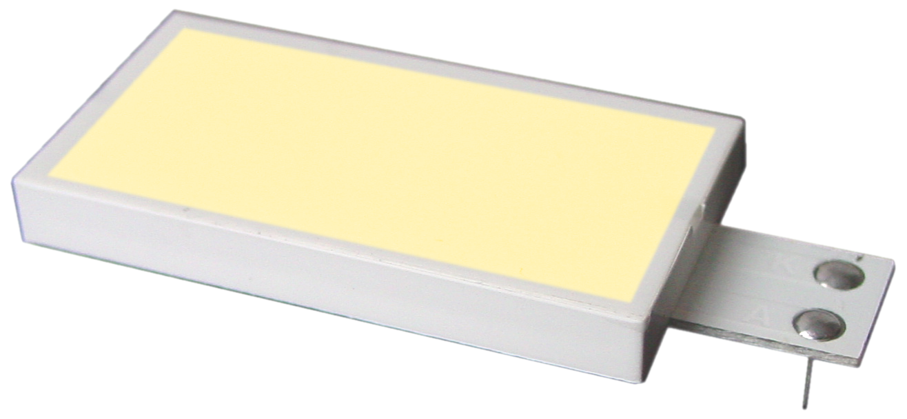 LED backlit YELLOW/GREEN for EA T123W-I2C EA T123A-I2C
