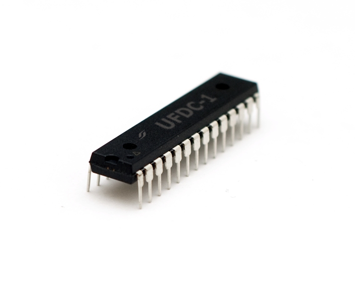 UFDC-1 Sensor to Digital Transducer serial, SPI and I2C Interface (PDIL)
