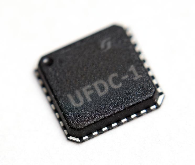 UFDC-1 Sensor to Digital Transducer serial, SPI and I2C Interface (MLF)