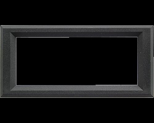 Bezel 60.8x24.2mm (4x16)