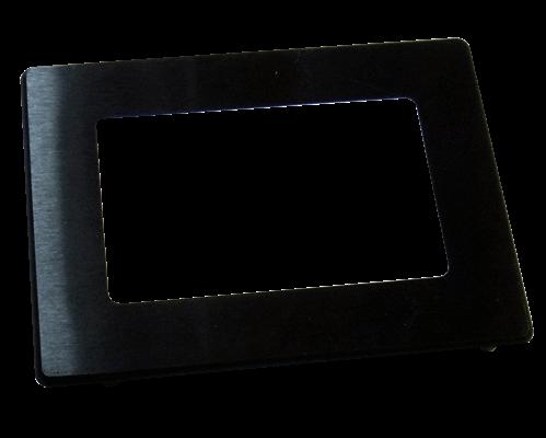 Aluminium bezel 38x61mm