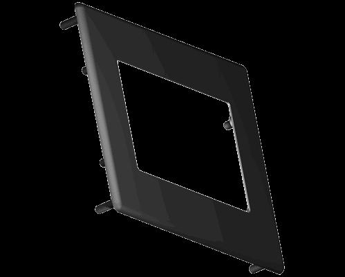 Aluminium bezel 44.7x72mm