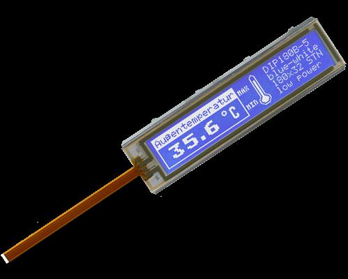 32x180 DIP Graphic Display