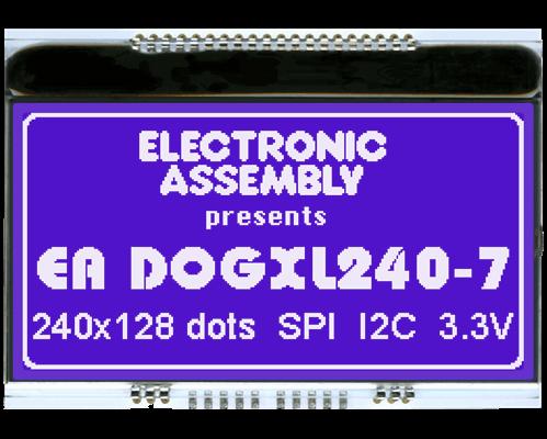 240x128 DOG Graphic Display
