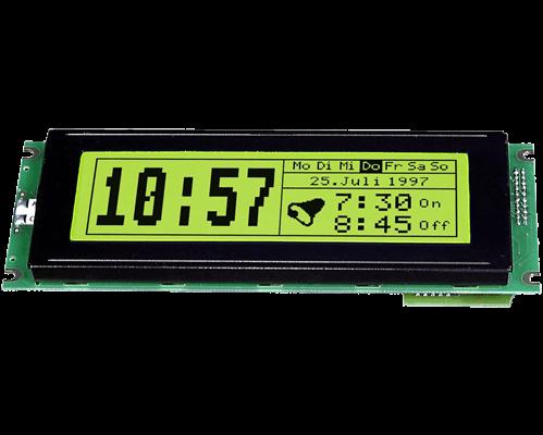 240x64 serial Graphic display EA GE240-6KV24