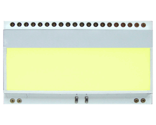 LED backlit YELLOW/GREEN for EA DOGM018,162,163,132