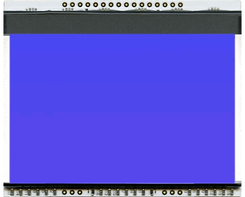 LED backlit unit BLUE for EA DOGXL160-7