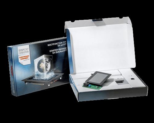 "Starterpack for 5.0"" EA uniTFT050-ATC"