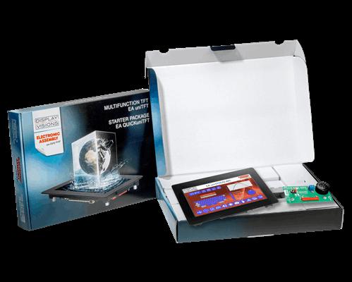"Starterpack for 7.0"" EA uniTFT070-ATC"