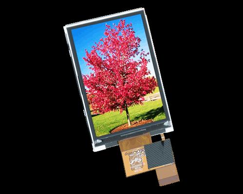 "2.8"" 320x240 TFT-IPS Graphic Display"