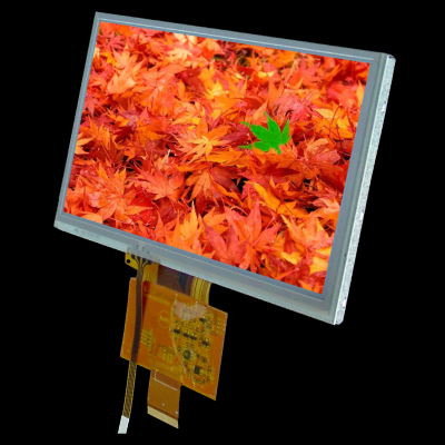 """7.0"""" 800x480 TFT Graphic Display with resistive touch screen"""